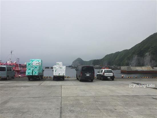 神津島到着