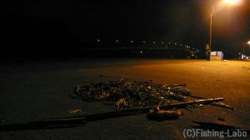 東京湾のとある漁港