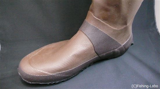 長靴の甲の部分