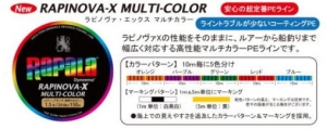 RAPINOVA-X MULTI-GAME MULTI-COLOR